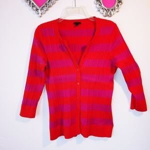 Talbots Cable knit cardigan